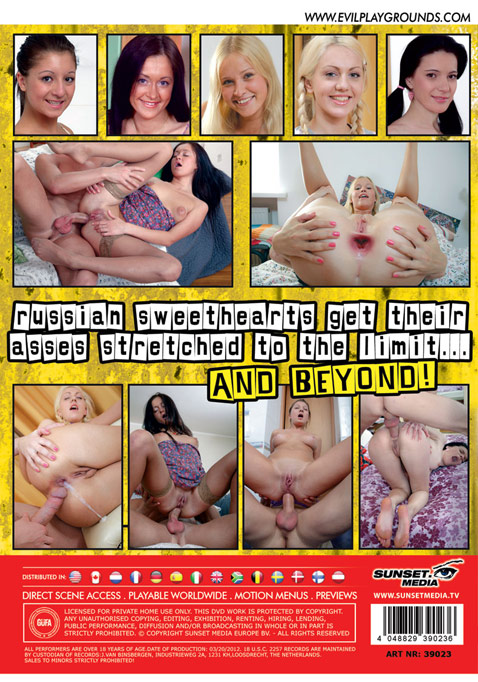 Anal Teens from Russia 3 The movie Picture Back Cover
