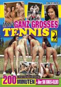Moni's quite big tennis The movie Picture Front Cover